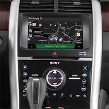 mustang navigation ford explorer mustang fusion flex integrated navigation system