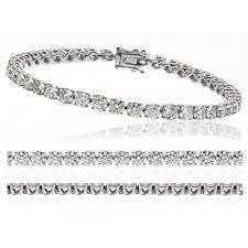 white diamond tennis bracelet images Discount diamond bracelets bangles for sale online uk jpg