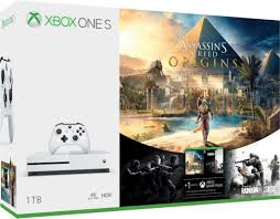 microsoft siege microsoft xbox one s 1 tb with assassin s creed origins rainbow six