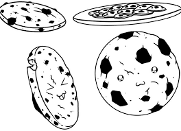 120 Best Cookie Images On Pinterest Coloring Sheets Biscotti Coloring Cookies