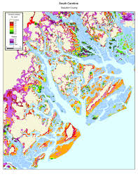 South Florida County Map by More Sea Level Rise Maps Of South Carolina