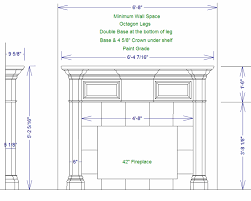 Wood Mantel Shelf Plans by Elite Construction Decorative Custom Mantles