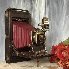 antique folding 3a camera gift for camera collector vintage