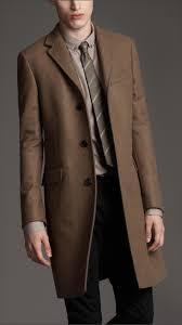 burberry london men s concealed button wool pea coat men s