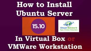 ubuntu network install tutorial how to install ubuntu server 15 10 wily werewolf in virtual box