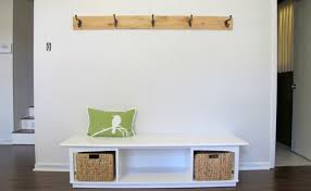 bench entryway bench with coat rack magnificent storage bench