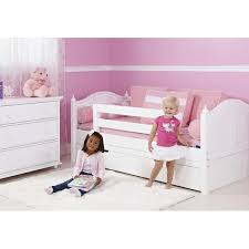 maxtrixkids yeah wc daybed w back and front safety rails