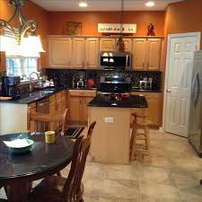 Best  Orange Kitchen Walls Ideas That You Will Like On - Orange kitchen cabinets