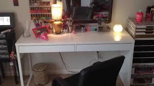 ikea vanity new vanity table micke ikea desk youtube