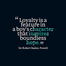 Robert Baden Powell Picture Sir Robert Baden Powell Quote About Loyalty Quotescover Com