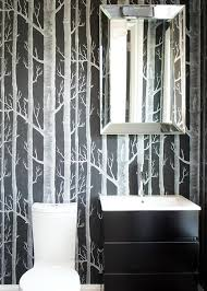 birch trees in bathrooms mojan sami
