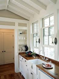 Eat In Kitchen Design by Home Design Black Finish Kitchen Cabinets Track Dull Lamps Small