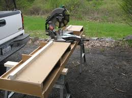 diy miter saw bench build a miter saw table gnh lumber diy