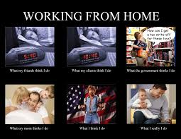 Working From Home Meme - working from home funny work pinterest free website office