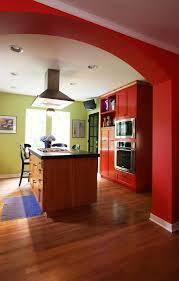 fresh modern kitchen color interior ideas yellow cabinetry design