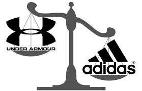 adidas passed under armour as the number 2 american sports brand