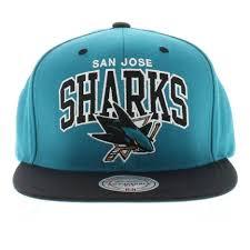 San Jose Sharks Flag San Jose Sharks The Team Arch 2 Tone Snapback Mitchell U0026 Ness Cap