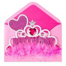 wearable princess crown kids birthday cards papyrus