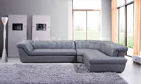 Modern Gray Leather Sofa by Sectional Sofas Nyc Leather Sofa For Sale Contemporary Black