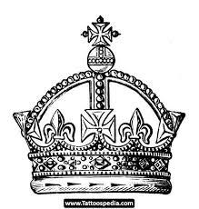 crown stencil 54