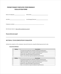 employee evaluation form 41 download free documents in pdf
