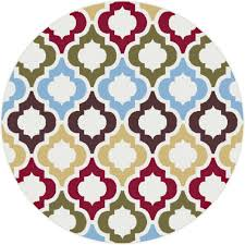 Round Area Rugs Contemporary by Living Room Beautiful Trellis Area Rug In Living Room Palazzo