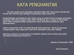 membuat kata pengantar makalah gores gores contoh kata pengantar makalah bahasa indonesia