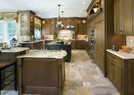 ceramic tile on countertops in kitchen custom island material