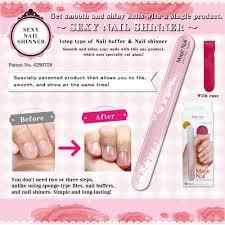 magic nail glass nail shiner