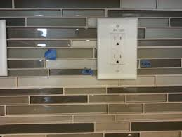 Outlet Covers For Glass Tile Backsplash by Glass Mosaic Tile A Mess Please Help