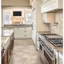 Bathroom Floor Tile Lowes Shop Style Selections Cityside Beige Honeycomb Mosaic Porcelain