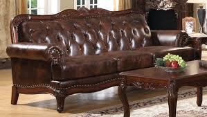 Sofa Set Amazon Leather Sofa Vintage Tufted Leather Couch For Sale Black Leather