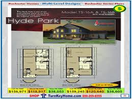 hyde park models ts 16a ts 16b rochester modular home two story