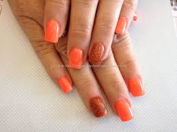 orange acrylic nail designs images nail art designs