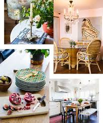 Bohemian Dining Room by A Designer U0027s Eclectic Bohemian California House Home Tour Lonny