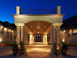 house front portico design house plans with porte cochere