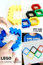 How Many Rings In Olympic Flag Lego Olympic Rings Activity With Basic Bricks 2018 Winter