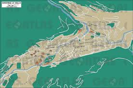 Andorra Map Geoatlas City Maps Andorra La Vella Map City Illustrator