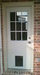 Patio Door With Pet Door Built In Exterior Door With Built In Pet Door Pet Ready Xpd50 Door Free