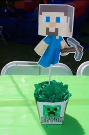 Minecraft Party Centerpieces by 15 Best Party Planning Images On Pinterest Birthday Party Ideas