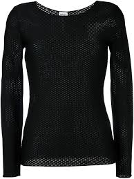 armani makeup reviews armani collezioni honeycomb knit top women