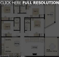 apartments 4 bedroom bungalow floor plan 4 bedroom bungalow floor