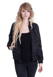 light bomber jacket womens fred perry high shine lightweight bomber jacket streetwear