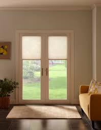 blinds for french doors with nice blind mice white window