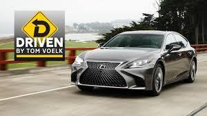 lexus suv depreciation 2018 lexus ls 500h car review youtube