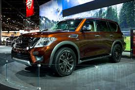 nissan armada 2017 platinum 2017 nissan armada takes on the toyota land cruiser