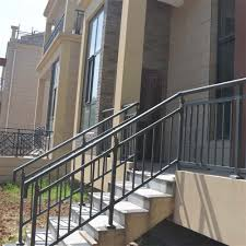 prefab wrought iron stair railings prefab wrought iron stair