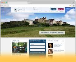 alumni website software toucantech happy communities