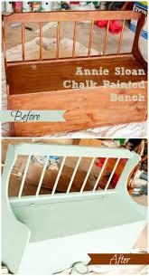 Folk Art Home Decor Chalk Paint Top 25 Best Painted Benches Ideas On Pinterest Picnic Table