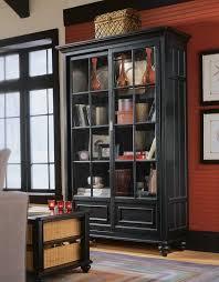 China Cabinet Decor American Drew Camden Dark Bookcase China Cabinet 919 588 At